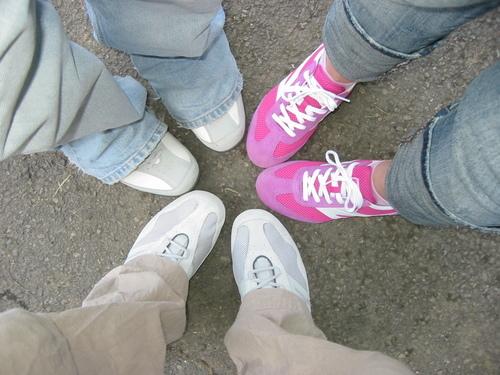Sneakers är alltid trendigt